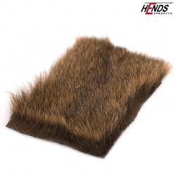 HAMSTER PELT - dk. brown