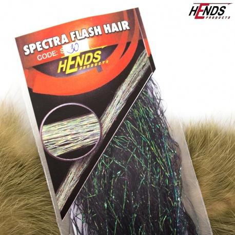 SPECTRA FLASH HAIR - BLACK