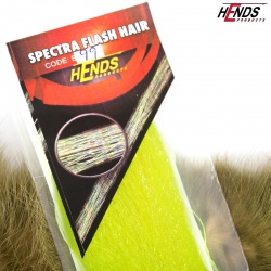 SPECTRA FLASH HAIR - YELLOW FLUO
