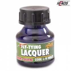 FLY TYING LACQUER - FIALOVÁ
