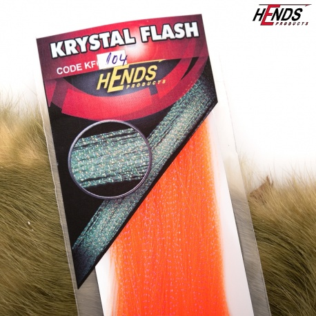 KRYSTAL FLASH - UV ICE EFFECT - UV FLUO ORANGE