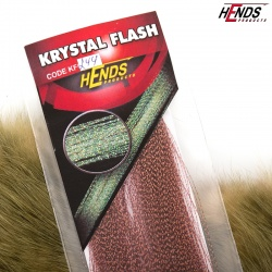 KRYSTAL FLASH - DK. BROWN - BROWN SHINE