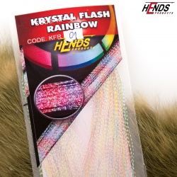 KRYSTAL FLASH RAINBOW - KFR01 - BÍLÁ PERLEA¤