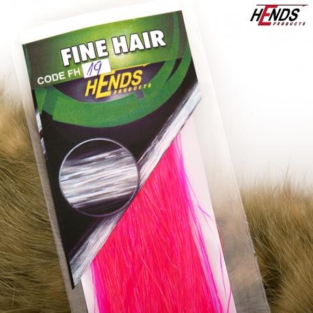 FINE HAIR - FH19 - ŘŮŽOVÁ