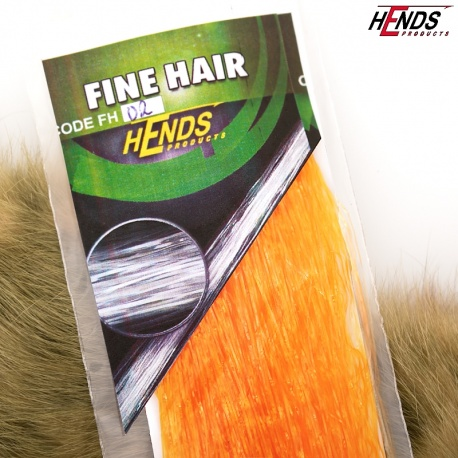FINE HAIR - ORANŽOVÁ