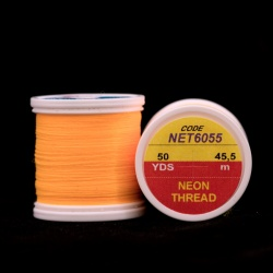 NEON THREAD - Fluo oranžova světlá