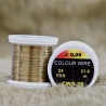 COLOUR WIRE - GOLD OLIVE