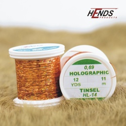 HOLOGRAPHIC TINSEL - ORANGE