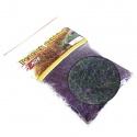 PEACOCK DUBBING černozelený - fialový efekt
