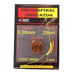 MICROSPIRAL INDICATOR ORANGE AND YELLOW - 2 pcs