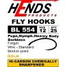 HENDS BL 554G - barbless Gold