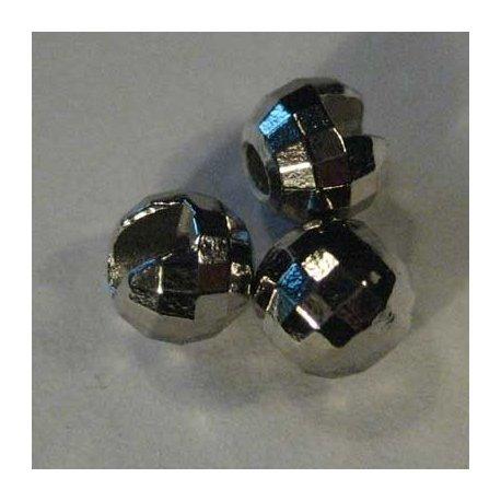 Fazetová hlavička niklová - 10 ks