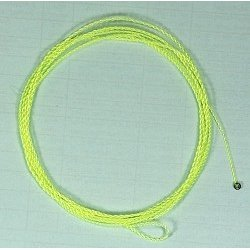 FURLED LEADER TROUT - FLUO YELLOW