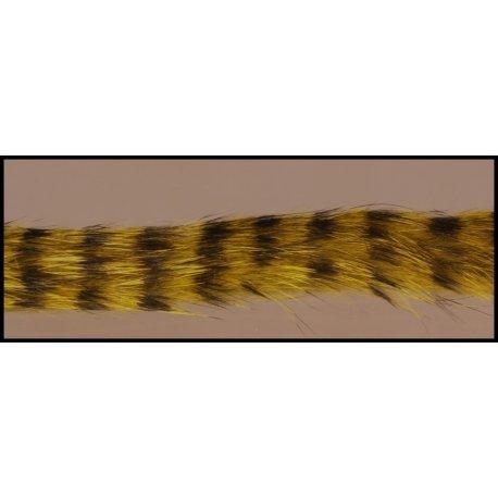 ZONKER BARRED - tm.olivový-černý 4 mm - 70 cm