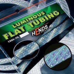 LUMINOUS FLAT TUBING - SVĚTLE MODRÁ