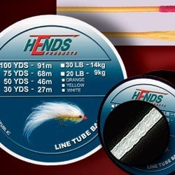 TUBE BACKING LINE - 20Lb / 50Yds - WHITE