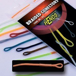 BRAIDED CONECTORS - ORANGE FLUO