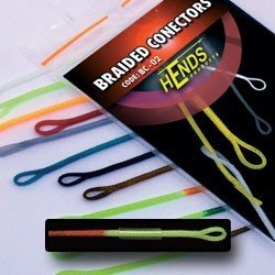 BRAIDED CONECTORS - RED / YELLOW FLUO