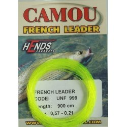 CAMOU FRENCH LEADER 900 cm - FLUO ŽLUTÁ