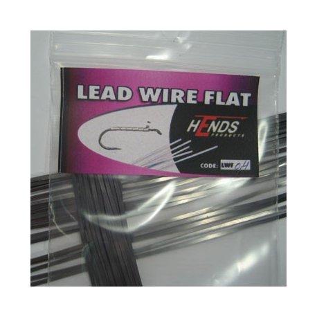 LEAD WIRE FLAT - 0,4 x 1mm