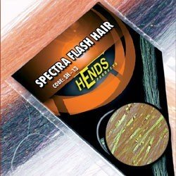 SPECTRA FLASH HAIR - ORANGE/RED