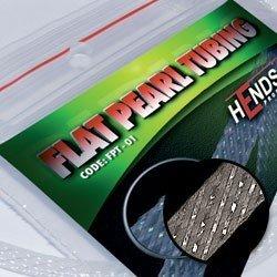 FLAT PEARL TUBING - GREY PEARLESCENT