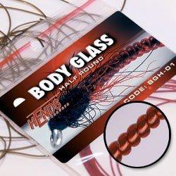 BODY GLASS ROUND - RED