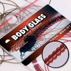 BODY GLASS ROUND - RED PINK