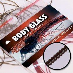 BODY GLASS HALF ROUND - BLACK