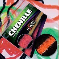 CHENILLE - HOT ORANGE FLUO