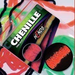 CHENILLE - BURNT ORANGE FLUO