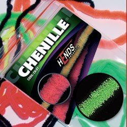 CHENILLE - GREEN FLUO