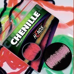 CHENILLE - RŮŽOVÁ