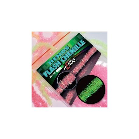 FLASH CHENILLE - GREEN FLUO