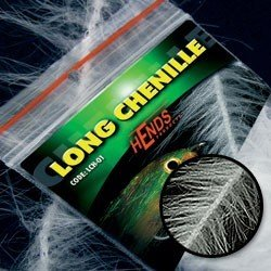 LONG CHENILLE - WHITE