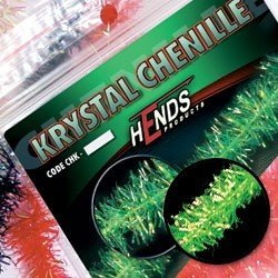 KRYSTAL CHENILLE - CHARTREUSE