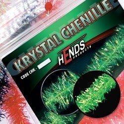 KRYSTAL CHENILLE - GREEN FLUO