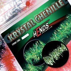 KRYSTAL CHENILLE - CHK21 - OLIVOVĚ ZEL. TM.