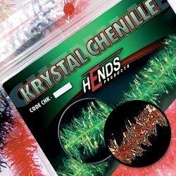 KRYSTAL CHENILLE - HNĚDÁ