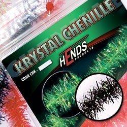 KRYSTAL CHENILLE - BLACK