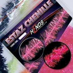 ESTAZ CHENILLE - PINK FLUO