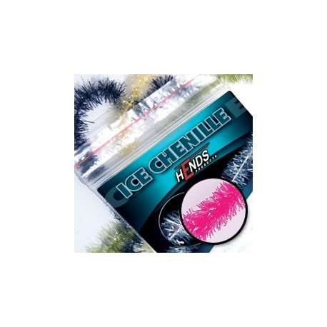 ICE CHENILLE - PINK FLUO