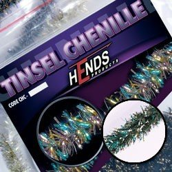 TINSEL CHENILLE - PEACOCK / GREEN