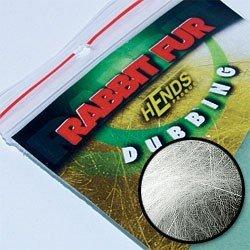 RABBIT FUR DUBBING - BÍLÁ