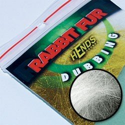 RABBIT FUR DUBBING - WHITE