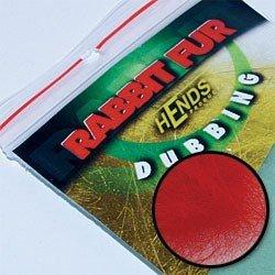 RABBIT FUR DUBBING - RED