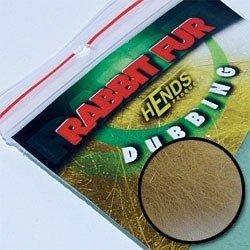 RABBIT FUR DUBBING - OLIVE GREY