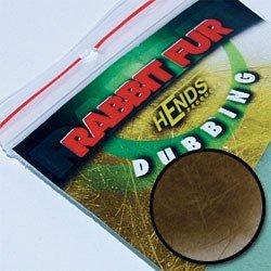 RABBIT FUR DUBBING - DK. BROWN