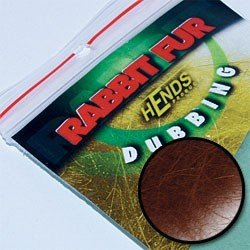 RABBIT FUR DUBBING - RUSTY BROWN