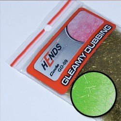 GLEAMY DUBBING - GREEN FLUO